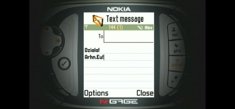 Archon psuje: wyjście wideo w prototypie N-Gage QD