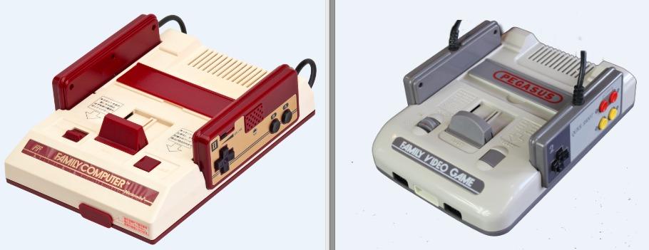Famicom vs Pegasus