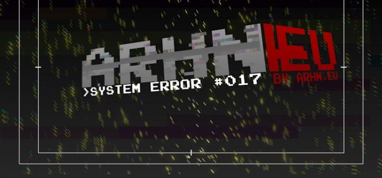 Oficjalny komentarz w sprawie comiesięcznego System Error