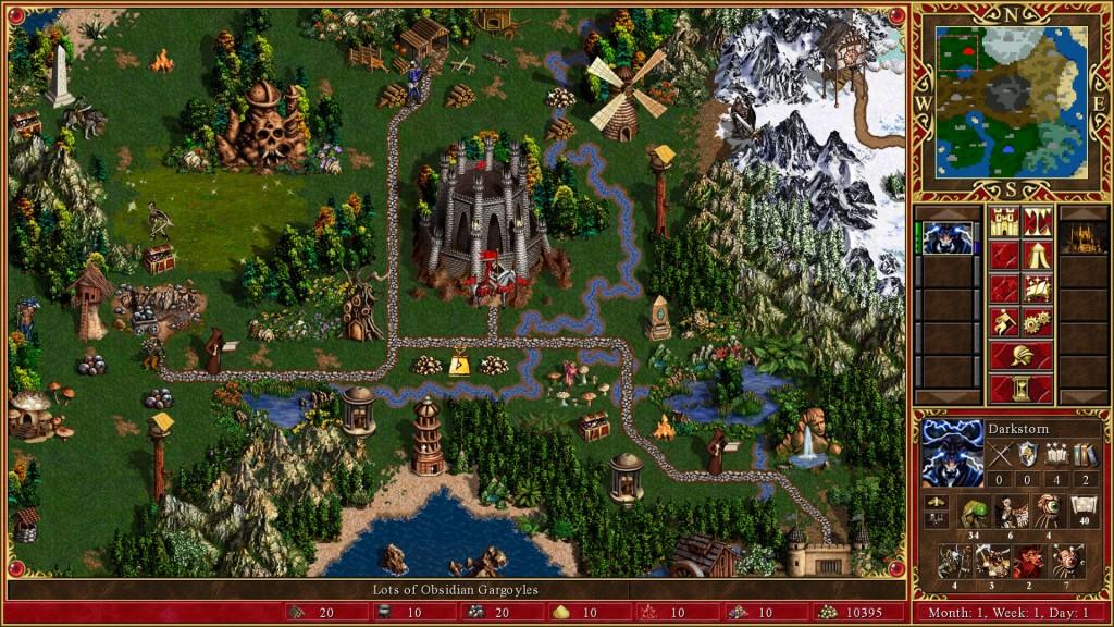 Prawdziwe Heroes 3 HD Edition Ubisoftu. Graficzny wzór dla prawdziwych remasterów.